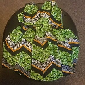 Other - Final Price! African Print Dress